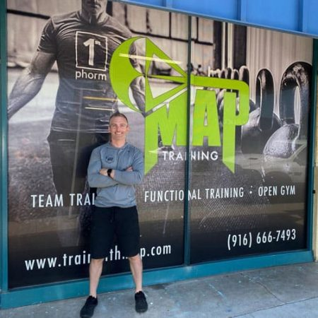 MAP Training Gym Front View from Street with Greg Siewers